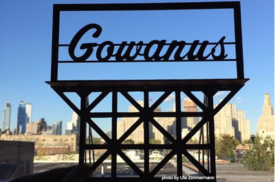 Gowanus billboard sign by Ute Zimmermann