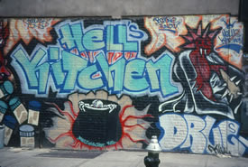 Hells Kitchen Mural