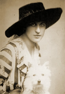 portrait of Inez Mulholland