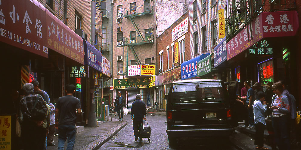 China Town in NY