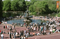Bethesda Fountain, Central Park NY